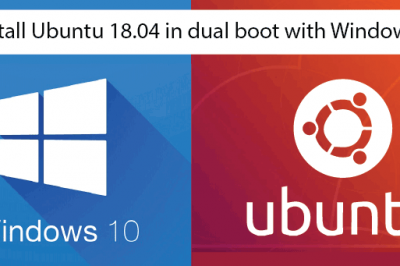 ubuntu 18.04 dual boot windows10