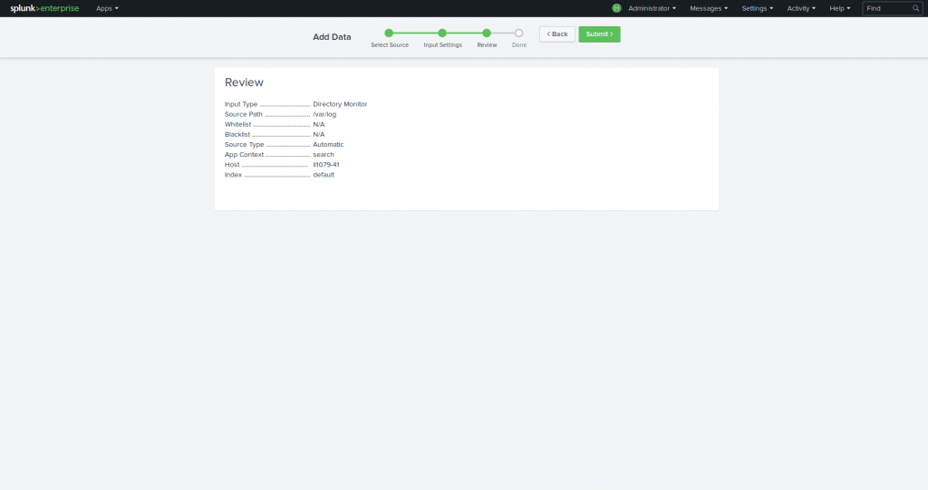 Review Splunk 7.1.0