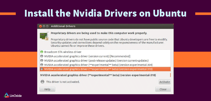 How to Install Nvidia Drivers on Ubuntu 18 04