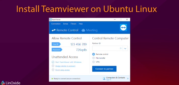 How to Install Teamviewer on Ubuntu 18.04