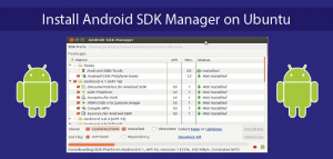 Install Android SDK Manager