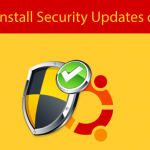 Install Security Updates Ubuntu