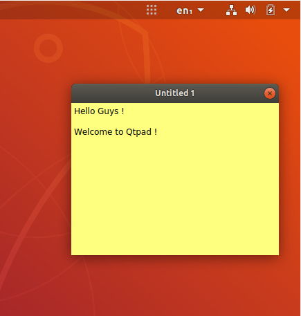 install QtPad On Ubuntu