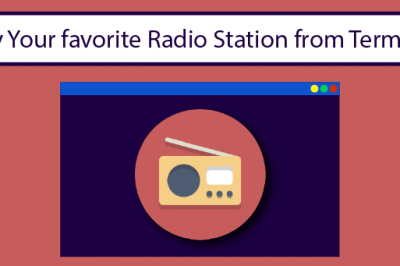 play radio station terminal