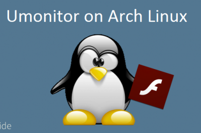 umonitor arch linux