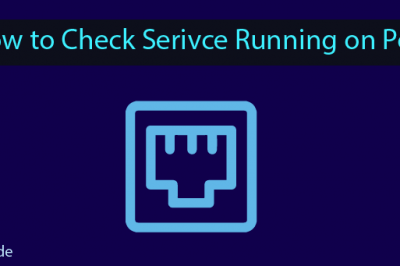 Check Service Running Port