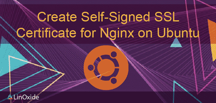 Create Self-Signed SSL Certificate Nginx