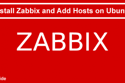 Install Zabbix Add Hosts Ubuntu