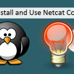 Install netcat command linux