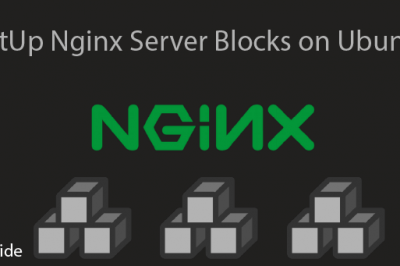 Setup Nginx Server Blocks Ubuntu