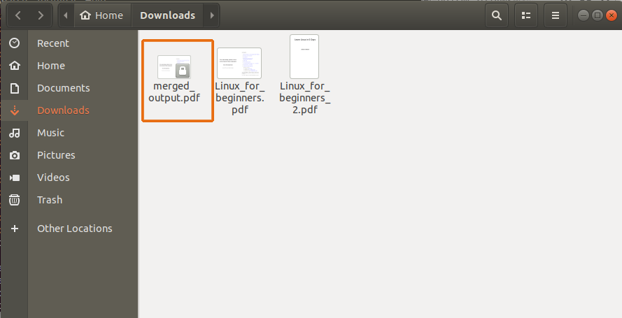 How to Merge PDF Files on Linux