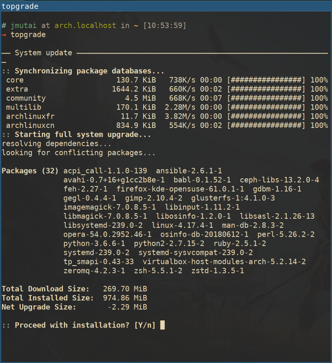Topgrade - Command Line Tool to Upgrade All Packages on Linux