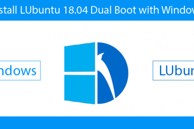 Install LUbuntu Dual Boot Windows