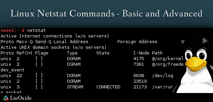 Netstat Command in Linux with Examples - Linoxide