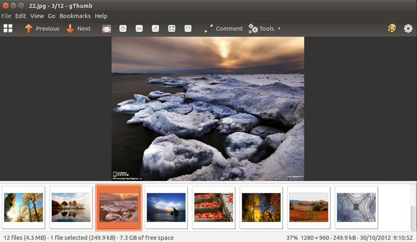 Best Image viewers for Linux