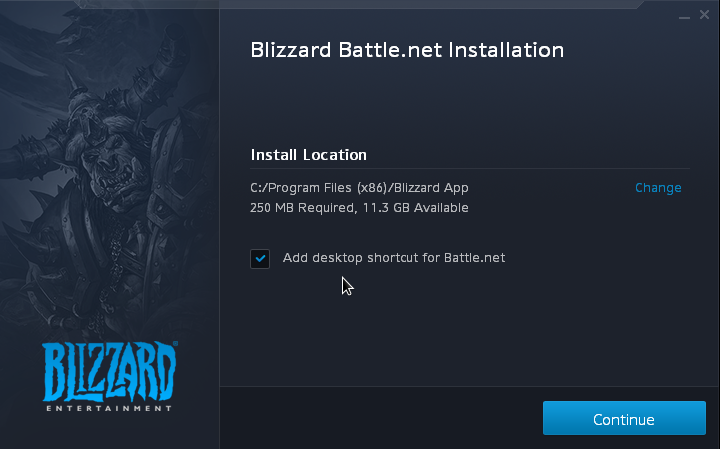 Installa Blizzard Battle.net