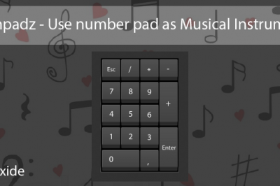 music on linux number pad