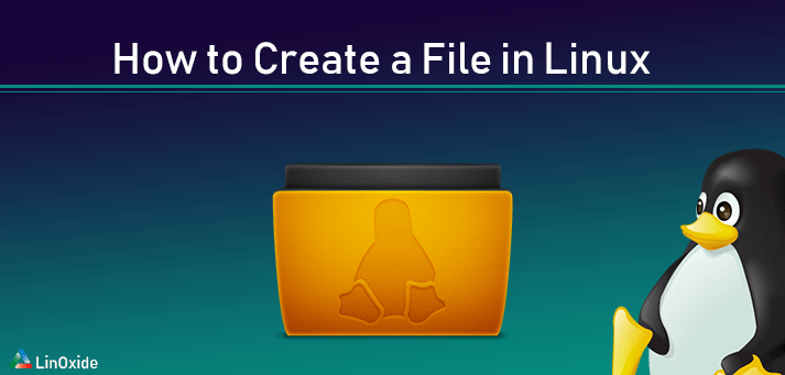 linux create file