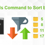 ls command sort by size linux