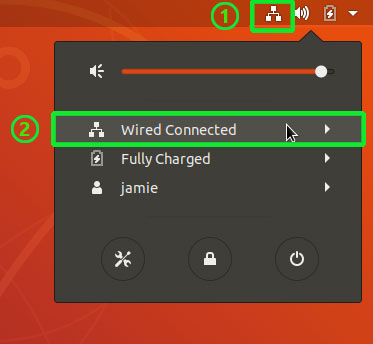 restart networking service on Ubuntu