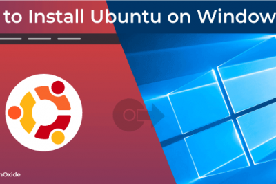 install ubuntu windows 10