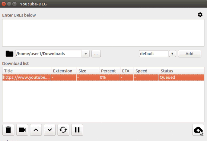 download YouTube videos in Ubuntu
