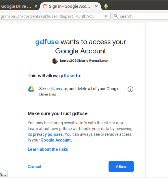Methods to Use Google Drive on Ubuntu Linux