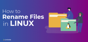 Methods to rename a file in linux