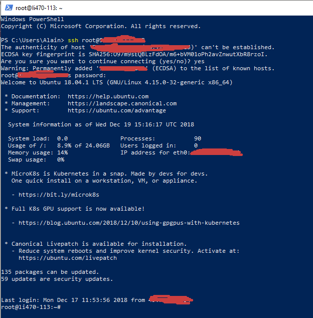 Use SSH Commands in Windows 10 Command Prompt - Linoxide