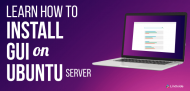 How to install gui on ubuntu server
