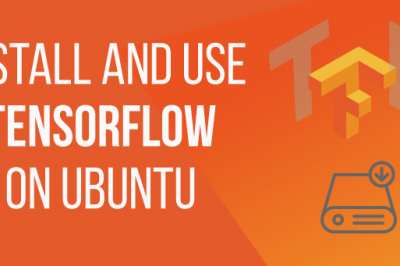 How to install and use tensorflow in ubuntu