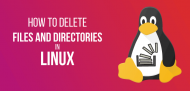 How to delete files in Linux