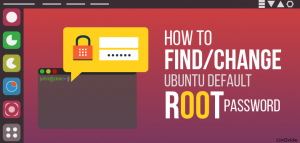 Change default ubuntu root password