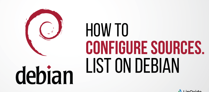 How to Configure sources.list on Debian 10