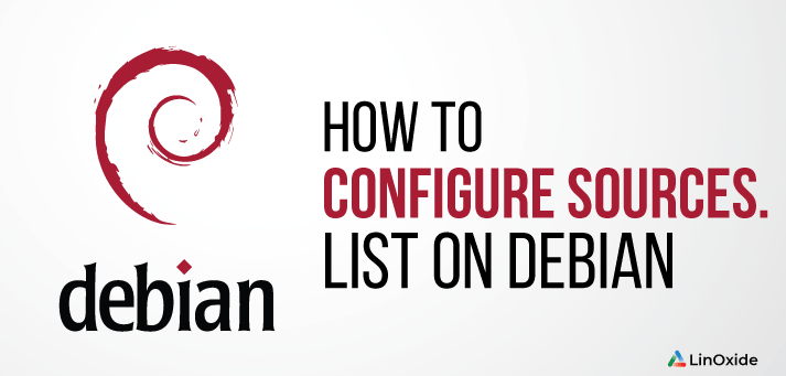 How to Configure sources list on Debian 10