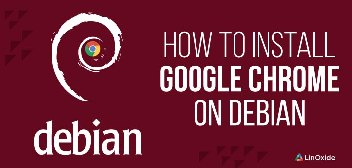 install chrome on debian system