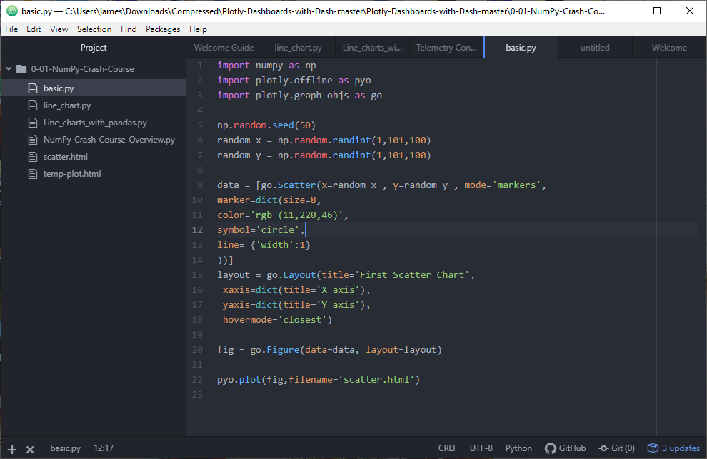Atom code editor best Apps in Linux