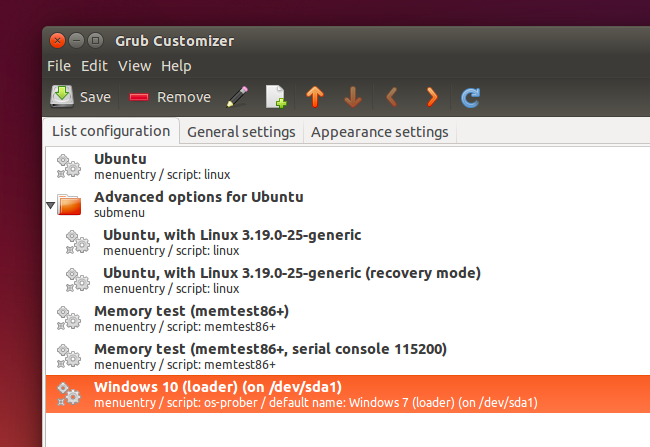 grub customizer