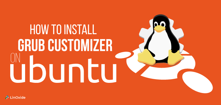 install grub customizer