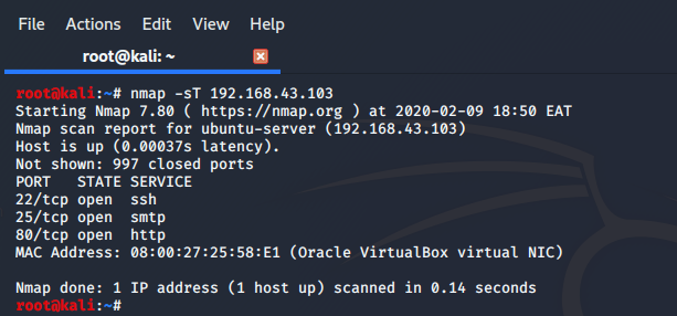 nmap command with examples