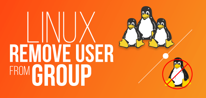 how to remove user from a group in linux