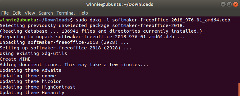 Install FreeOffice Ubuntu