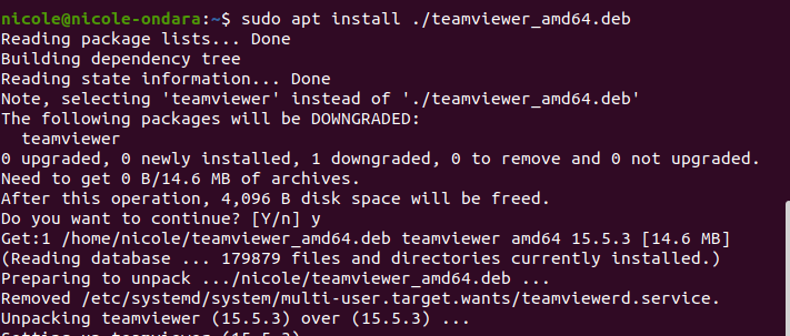 install Teamviewer on ubuntu