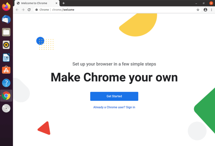 chrome ready to use