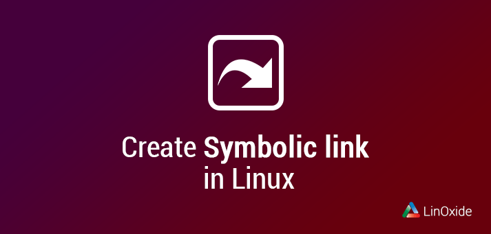 create symbolic link in linux