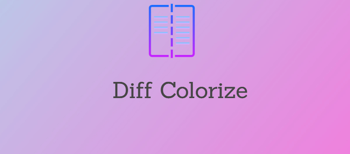 How to Diff Command Colorize Output on Linux