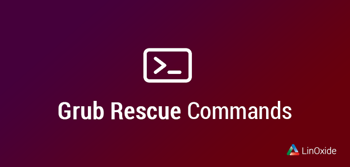 grub rescue commands