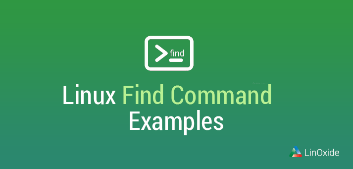 linux find command