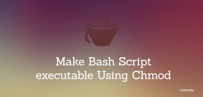 make bash script executable