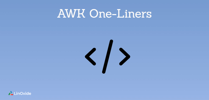 handy awk one-liners